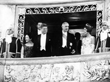 President and Jacqueline Kennedy at the Palace of Versailles