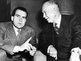 General Dwight Eisenhower with His Running Mate  Senator Richard Nixon