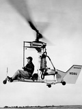 One Man Helicopter That Uses a Mercury Outboard Motor  Oct 1959
