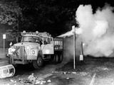 Tear Gas Is Sprayed into Crowds Assembled in Grant Park at 1968 Democratic National Convention