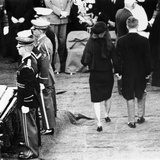Jacqueline Kennedy and Robert Kennedy at Pres John Kennedy's Funeral  Nov 25  1963