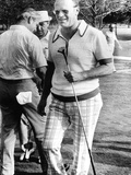 Vice Pres Ford Golfing at Metairie Country Club with Louisiana Congressman David Treen  Aug 4  1974