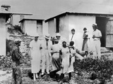 First Lady Eleanor Roosevelt Tours the Virgin Islands