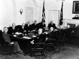 Franklin Roosevelt's Second Term Cabinet