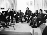 President-Elect Richard Nixon Meets with Civil Rights Leaders