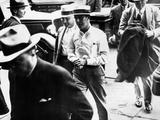 Alvin Karpis  'Public Enemy No 1'  and His Captor  J Edgar Hoover  Director of the FBI