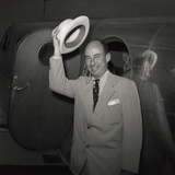 1952 Presidential Nominee Adlai Stevenson Arriving at the Democratic National Convention  Chicago