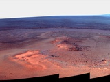 Mosaic Image of Mars Taken by NASA's Mars Exploration Rover 'Opportunity'  January 2012