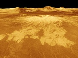 Volcano Named Sapas Mons on Venus