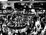 Trading Floor of the New York Stock Exchange on April 3  1968