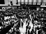 Trading Floor of the New York Stock Exchange on March 30  1970