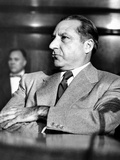Mob Boss  Frank Costello  Refusing to Testify to the Senate Crime Investigating Committee