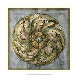 Rosette and Damask III