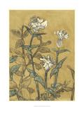 Etched Floral I