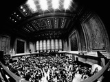 Fish-Eye View of Trading Floor of New York Stock Exchange on its 175th Anniversary  May 17  1967