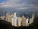 View from the Peak  Hong Kong  China