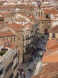Rua Mayor  Salamanca  Spain