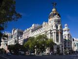 Metropolitan Building  Madrid  Spain