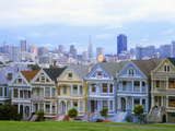 Alamo Square Park  San Francisco  California  USA