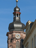 Spire of Providenzkirche  or Church of Providence  Old Town  Heidelberg  Germany