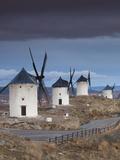La Mancha Windmills  Consuegra  Castile-La Mancha Region  Spain