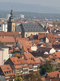Skyline of Bamberg  Germany