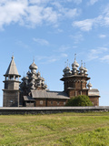 Church of the Transfiguration and of the Intercession  Kizhi Island  Lake Onega  Russia