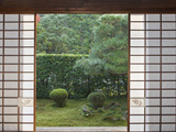 Temple Window  Sesshuji  Kyoto  Japan