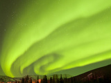 Aurora Borealis  Chena Hot Springs Lodge  Fairbanks  Alaska  USA