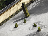 Zen Garden  Portland Japanese Garden  Portland  Oregon  USA