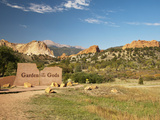 Garden of the Gods Historic Site  Colorado  USA