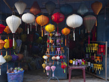Lantern Shop in Hoi an Ancient Town  Vietnam