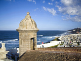 Cemetary  Fort San Felipe Del Morro  San Juan  Puerto Rico  USA  Caribbean