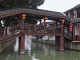 Covered Bridge on the Grand Canal  Zhujiajiao  Shanghai  China