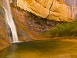 Waterfall  Grand Staircase Escalante National Monument  Utah  USA