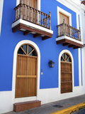 Typical Colonial Architecture  San Juan  Puerto Rico  USA  Caribbean