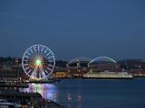 The Seattle Great Wheel  Seattle  Washington  USA