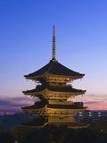 To-Ji Temple Pagoda  Kyoto  Japan