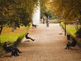 Parque Del Buen Retiro  Madrid  Spain