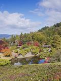 Yokuryuichi Pond  Shugakuin Imperial Villa  Kyoto  Japan