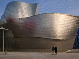 The Guggenheim Museum  Bilbao  Spain
