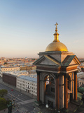 View from St Isaac Cathedral  Saint Petersburg  Russia