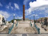 View of El Totem in Plaza Del Totem  Plaza Del Quinto Centenario  San Juan  Puerto Rico  USA