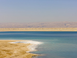 Beach Along the Dead Sea  Jordan