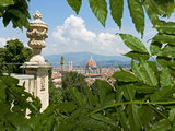 Panoramic View of Florence from Bardini Garden  Florence  UNESCO World Heritage Site  Italy