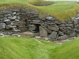 Early Settlement Homes  Skara Brae  Stromness  Orkeny Islands  Scotland