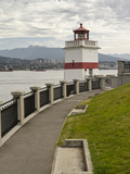 Brockton Point Lighthouse  Stanley Park  Vancouver  British Columbia  Canada