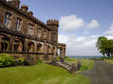 Historic Kinloch Castle  Isle of Rhum  Inner Hebrides  Scotland
