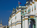 Winter Palace and Hermitage Museum  Dvortsovaya Square  Saint Petersburg  Russia