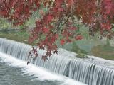 Waterfall  Arashiyama  Kyoto  Japan